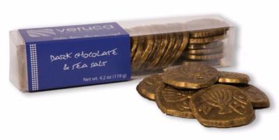 Gelt for Grownups, gourmet chocolate gelt