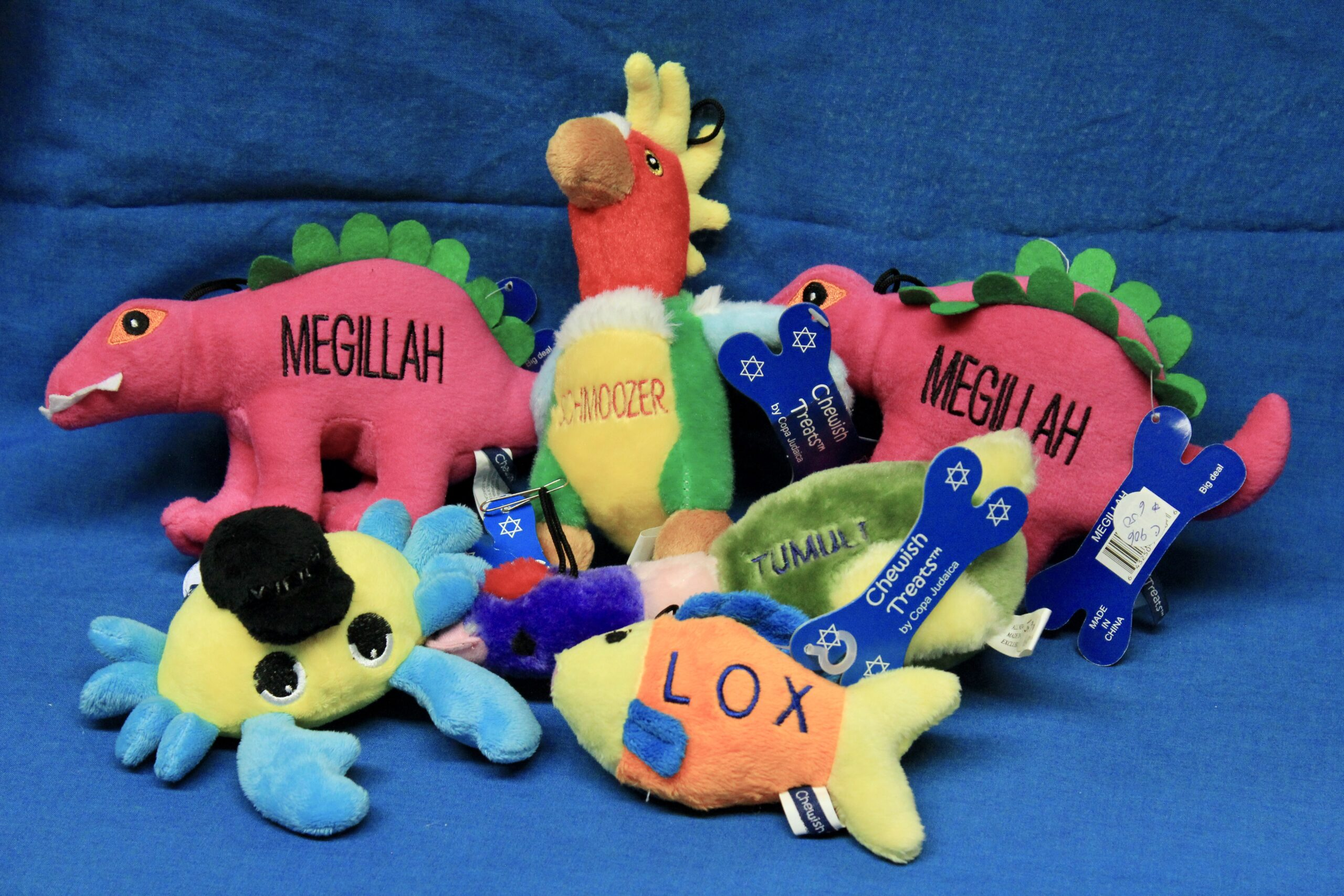 Assorted Pet Squeak Toys $6 each